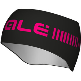 Alé Cycling Strada Headband Black-FL Magenta